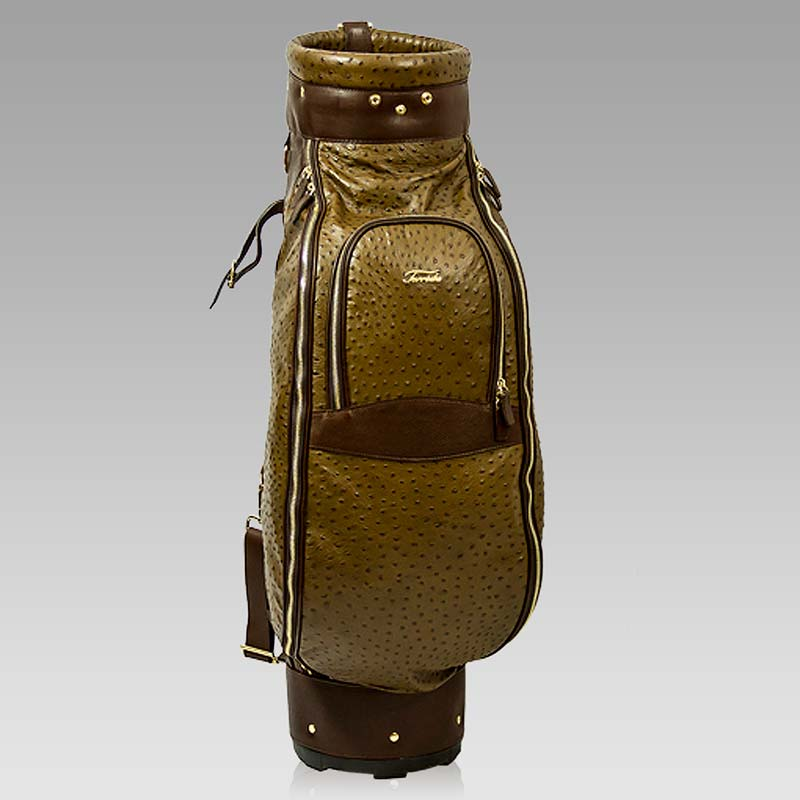 Designer Italian Leather Golf Bags