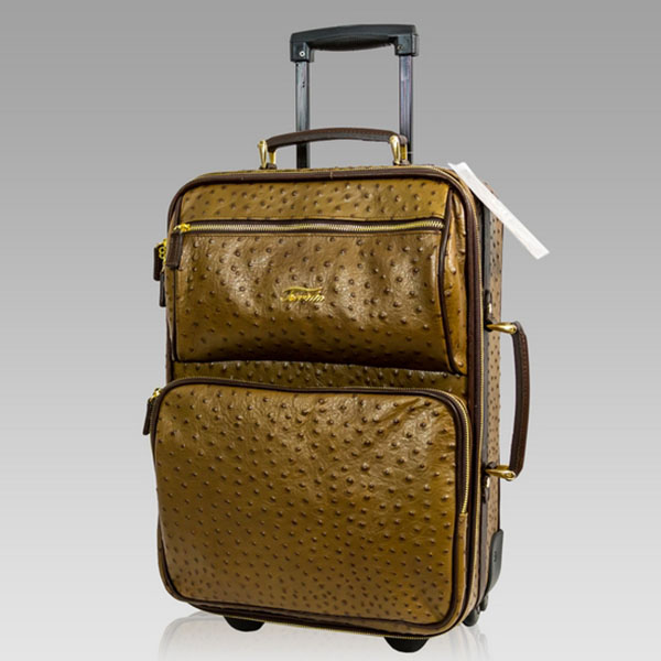 Designer Italian Leather Travel Bags