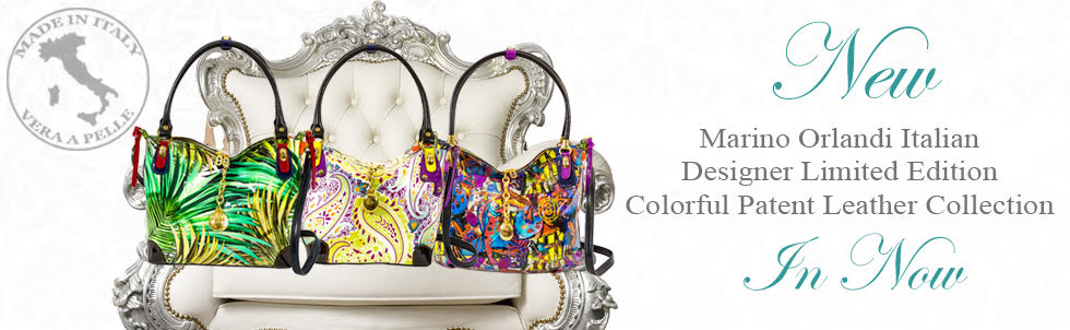 New Marino Orlandi Italian Designer Limited Edition Colorful Patent Leather Collection In Now