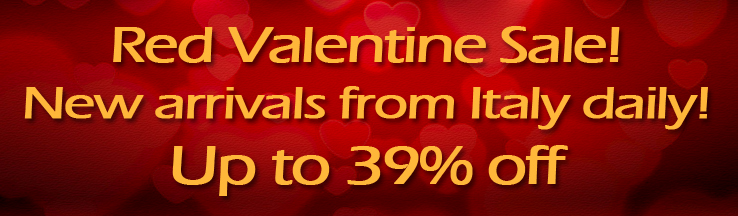 2017 RED VALENTINE SALE! BEST SALE OF THE YEAR! UP TO 39% OFF!!